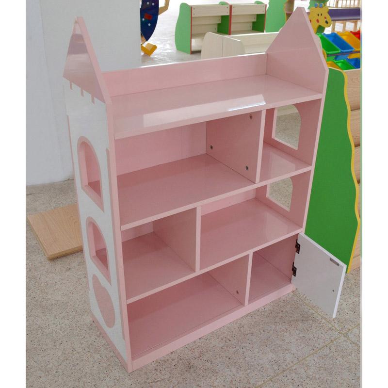 House Style Kids' Bookshelf Creative Design Non-toxic MDF Board
