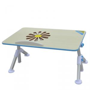 Wholesale Wood Folding Table Adjustable Height Laptop Desk Adjustable Angle Children Study Table