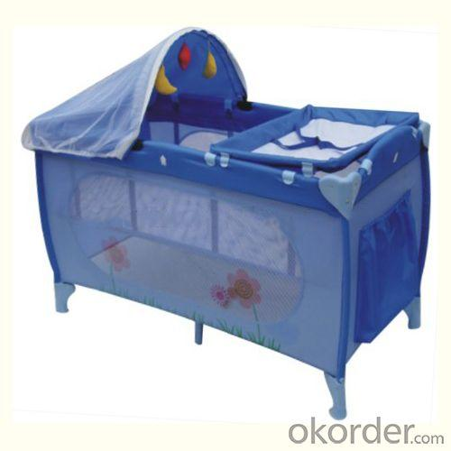 Folding Handiness Baby Playpens with Canopy Mosquito Net EN71 from China