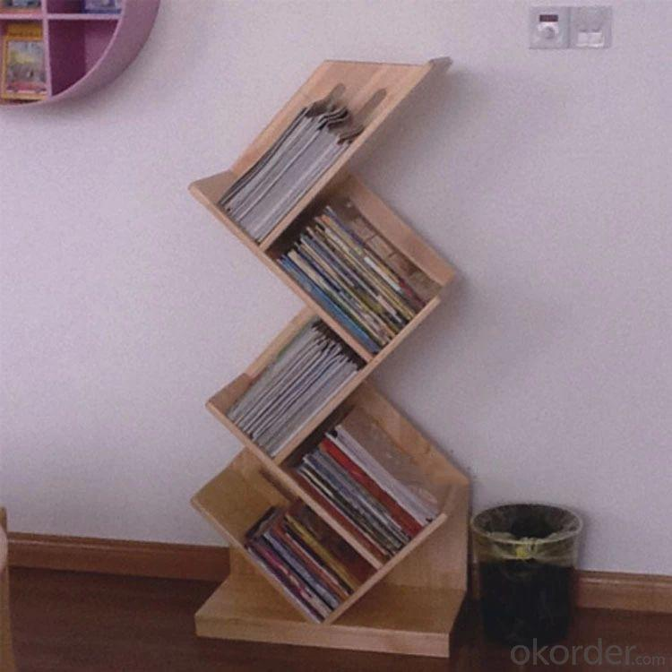 Children's Wooden Bookshelf for Primary School OEM Available