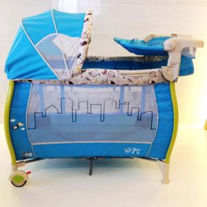 2014 Playpen With Color Tubes Pb-007 (Tp204) Blue