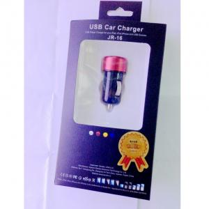 Car Charger for  iPhone 5 /5s/ iPad 2/ 3 /4 /5/ iPod/  E- Cigarette/Cigarette Lighter  with Mini USB Port in Green