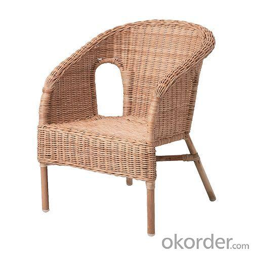 Litter Wicker Chair for Children with Non-toxic Material