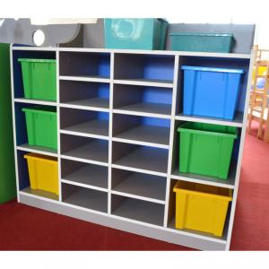 Colorful Children's Cabinet Stable Structure Space-saving