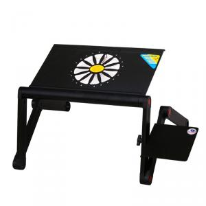 2014 New Adjustable Height Laptop Table Bed Table Bed Desk With Fan Adjustable Student Study Table