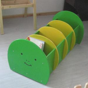 Caterpillar Style Wooden Cabinet for Kids Creative Design Durable