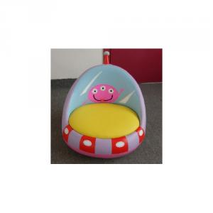 Children's Sofa Cartoon UFO Style with Environmental PU Leather