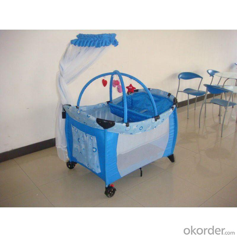 Cross Toy Bar And T-Mosquito Net Bar Baby Playpen
