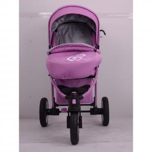 2014 Three Air Wheels Aluminum Baby Push Chair C368 Purple