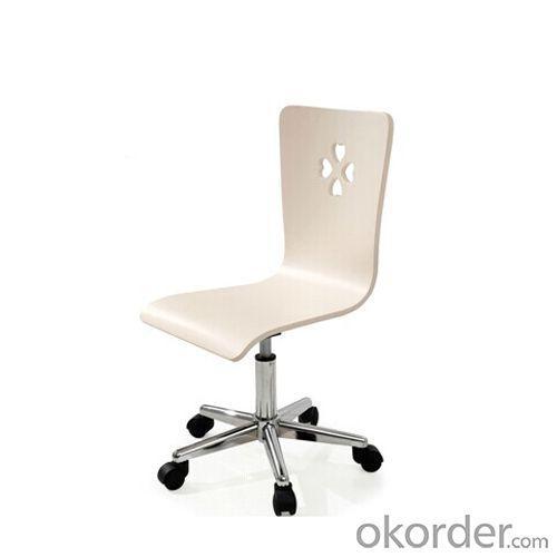 Children's Wooden Computer Chair with Ergonomic Design