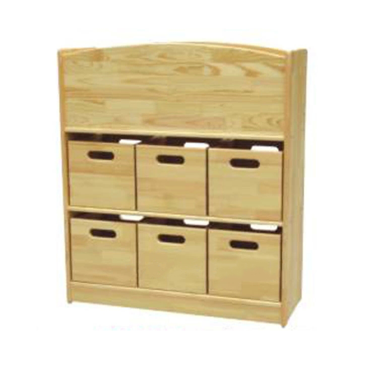 Children's Wooden Cabinet Used for Kindergarten Multiple Pattern