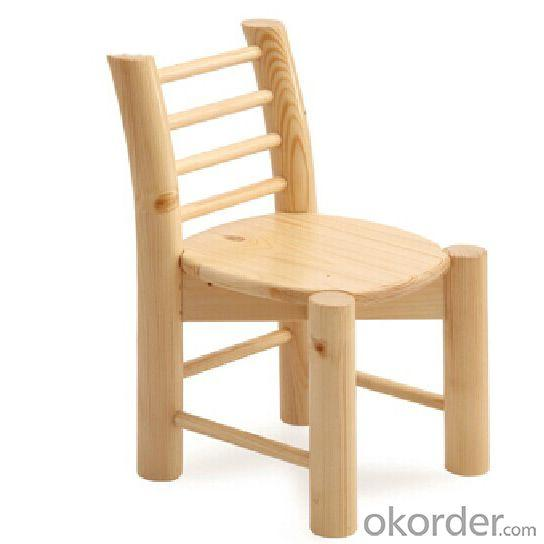 Children's Wooden Chair for Home and School Eco-friendly Material