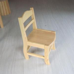 Kids' Wooden Chair with Backrest and Environmental Non-toxic Paint