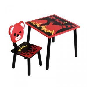 Kids' Table Chair Set for Kingdergarten Unique Cartoon Design