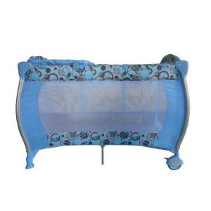 Blue Baby Playyard With Changer