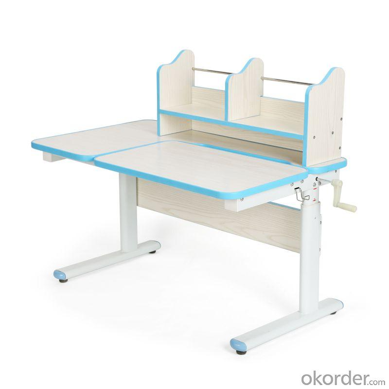 High Quality Height Adjustable Wood Children Study Table, Adjustable Angle School Desk For Kids
