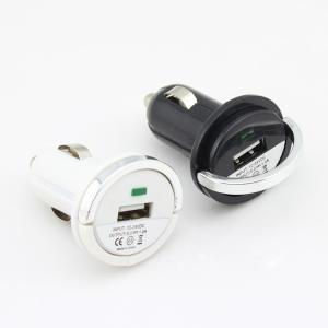 Car Charger for Smart Phones/PDA/E-Cigarette/Camera with Dual Port 5V