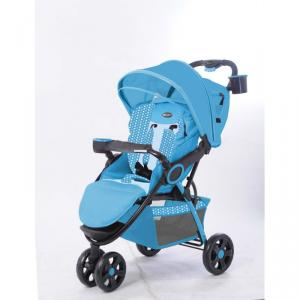 C238 Three Wheels Baby Stroller Blue