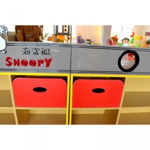 Corsair Shape Kids' Cabinet Storage for Kindergarten Creative Design