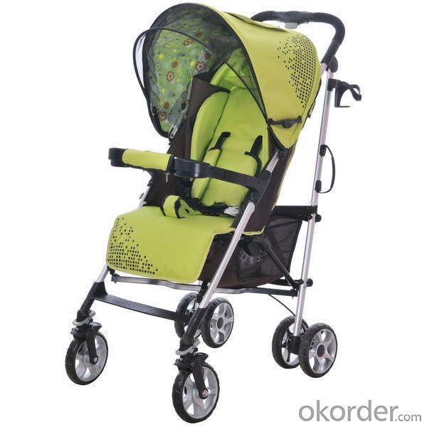 C596 Oval Frame Baby Stroller Purple