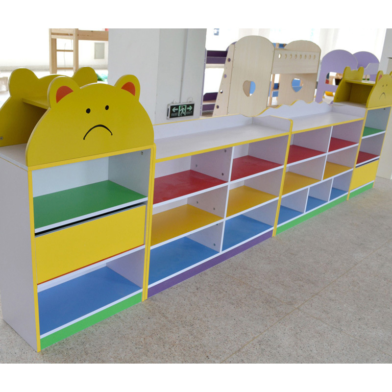 Lovely Cartoon Design Kids' Cabinet Storage for Kindergarten