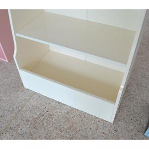 Children's MDF Cabinet for Primary School Classical White Durable