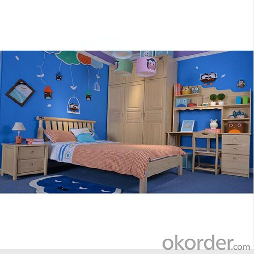 high quality solid wood children furniture application