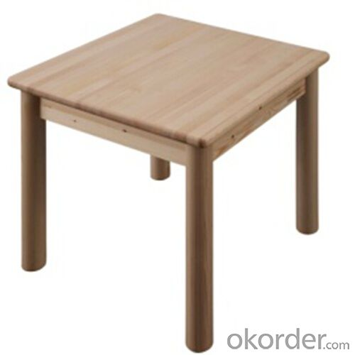 high quality solid wood children table, solid wood rectangle children table