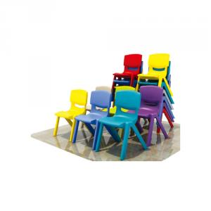 Plastic Children Furniture Desks Group with Multi-Function Optional Colors