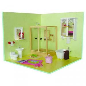 Diy Wooden Doll House, Diy Wooden Toy House, Funny Doll House With Light