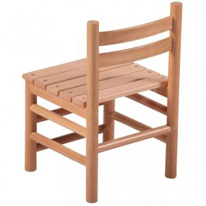 Solid Wood Beech Chair for Kids Ergonomic Design Eco-friendly