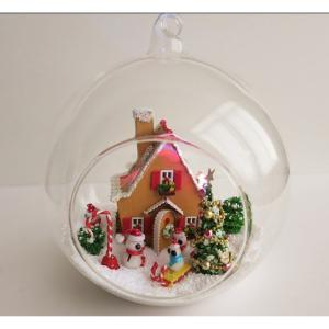Wooden Doll House, Christmas Lighted Houses, Wooden Lighted Christmas House