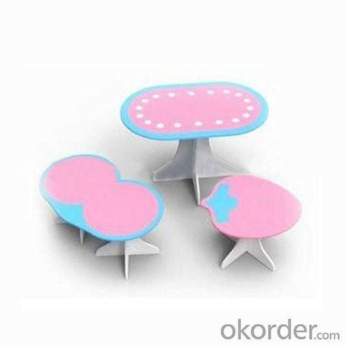 Student Study Desk/Children Table/Kids Furniture and Chair Set in Fruit Shape Cartoon