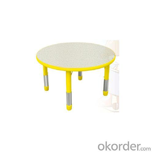 Adjustable Children Desk Round Table
