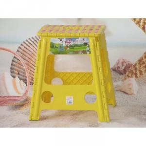 Plastic Foldable Children's Chair of 39cm Height Colorful and Cute