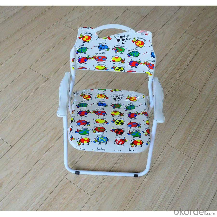 Foldable Chair for Children without Armrest Customized Color