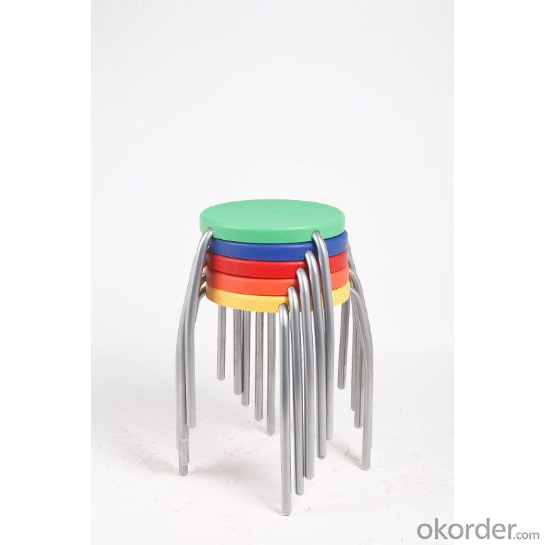 Powder Coating Steel Children's Stool for Kingdergarten and Primary School