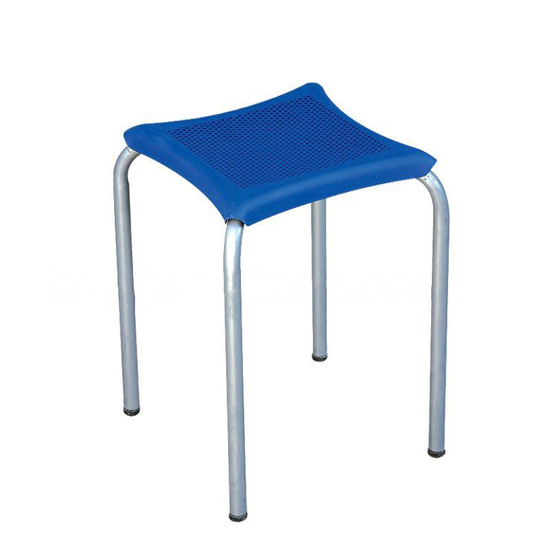 Stylish Kids' Stool with Powder Coating Steel Frame Multiple Color