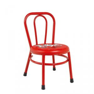 Fashion Plastic Kids' Chair with Spurts Spreads Steel Frame Durable