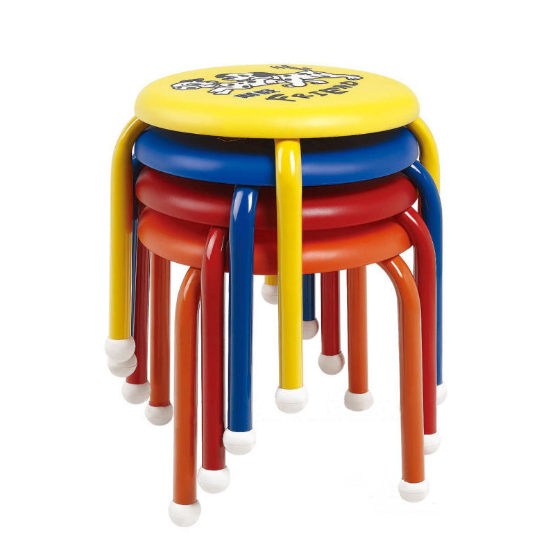 Cute Kids' Stacking Chair with Cartoon Design for Wholesale