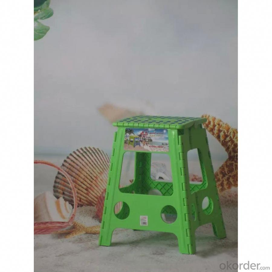 Kids' Plastic Foldable Chair of 45cm Height with Multiple Color