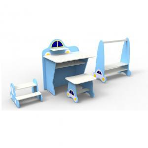 Children Table Kids Study Desk Children Furniture Set for Bedroom