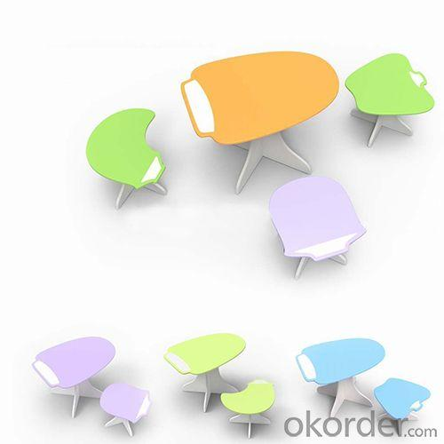 Primary School Furniture/Student Study Desk Economical in Multi Colors