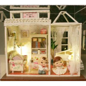 Diy Wooden House Doll House Simulation Furniture