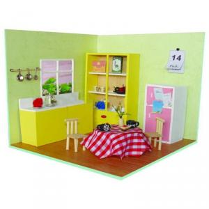 Cheap Wooden Diy Toy House For Girls ,Educational Toys