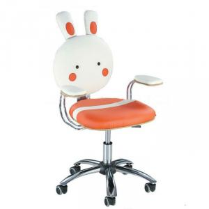 Good Synthetic Leather Computer Chair For Kids Rabbit Cartoon Pattern