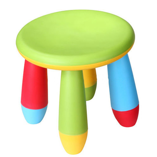 Children's PP Plastic Round Stool Cute New Design Eco-friendly Material