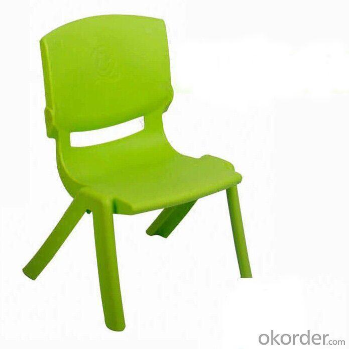 Plastic Foldable Kids' Chair with Pretty Color Unique Design