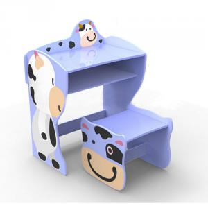 Children Preschool Furniture/Students Study Table in Cartton Cowabunga Pattern
