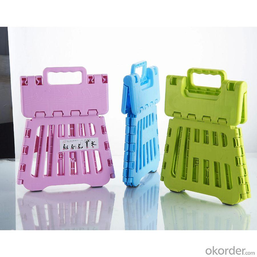 Children's Plastic Folding Chair with Customized Color Eco-friendly Material